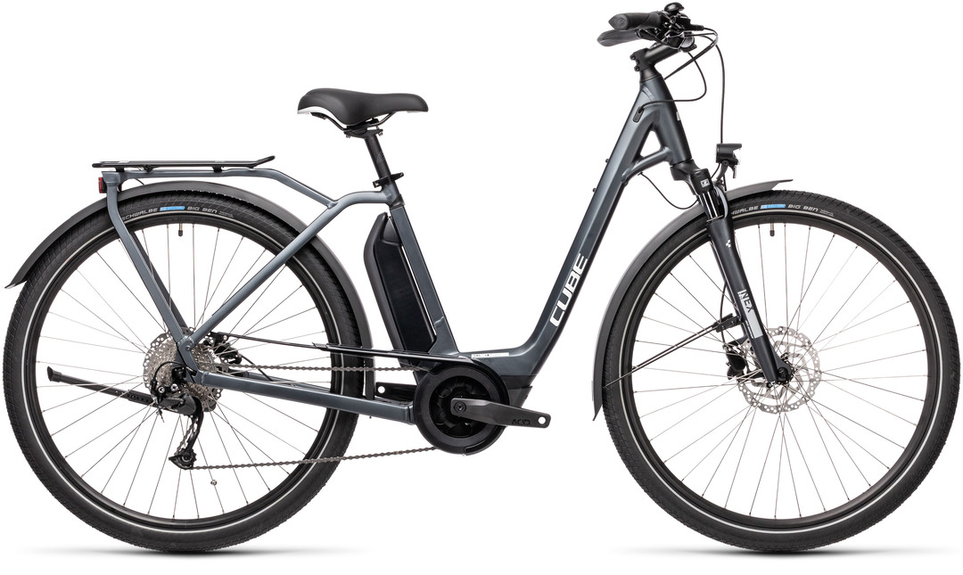 Cube Town Sport Hybrid one 500 dame maat 46